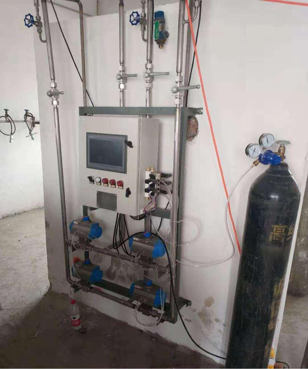 全自动氩气二氧化碳配气装置