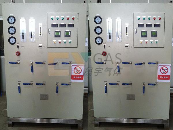 上海工程公司60m3氩气净化设备现场